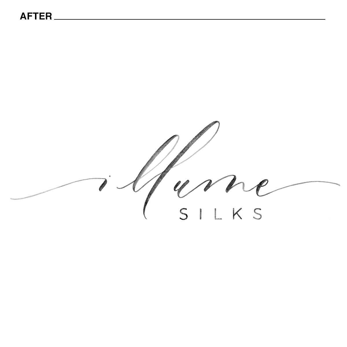 illume silks new logo