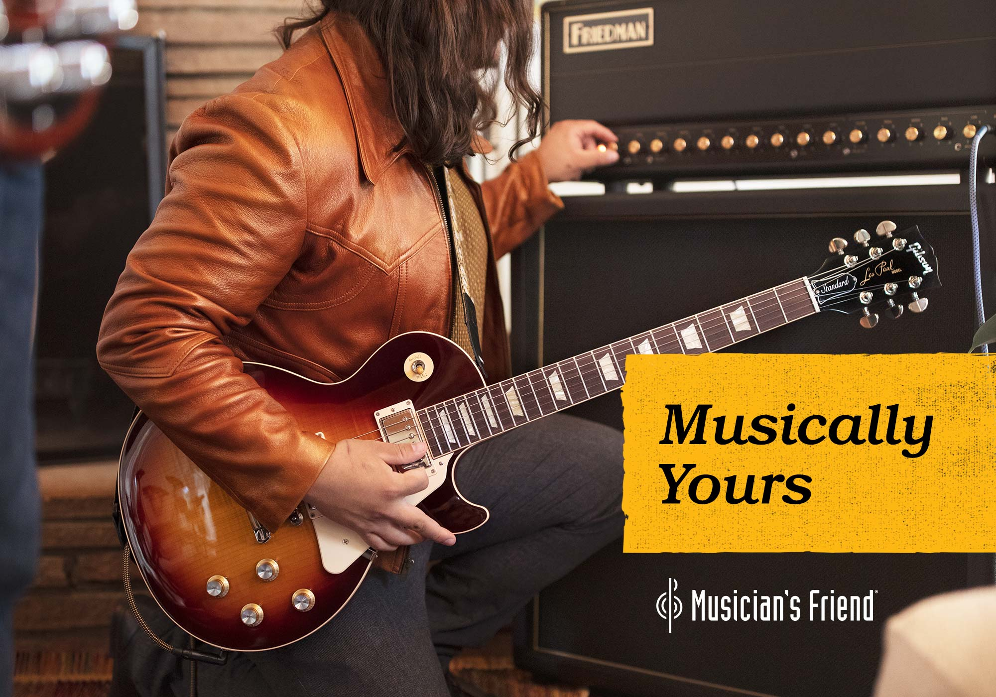 Musician's Friend Rebrand and Creative Campaign for Musically Yours