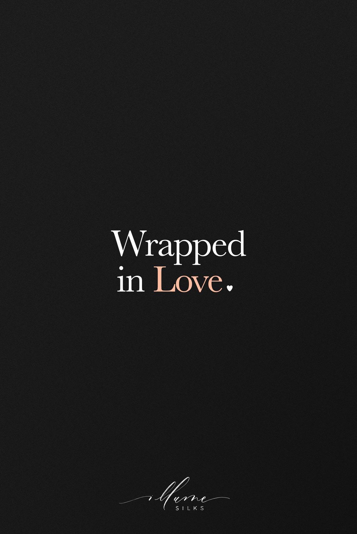 illume silks wrapped in love